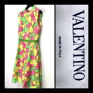 NWOT Valentino Embroidered Floral Dress sz 4